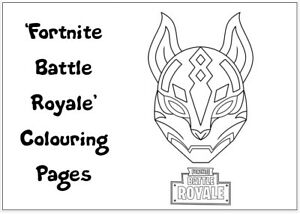 FORTNITE Colouring Pages - 20 Sheets - Perfect for Rainy Day Craft!