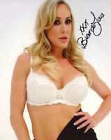 BRANDI LOVE SIGNED 8x10 PHOTO XXX PORN ADULT MOVIE ACTRESS MILF RARE BECKETT BAS