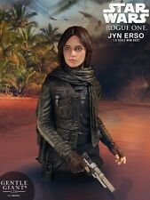 Gentle Giant Star Wars Rogue One Jyn Erso Bust New