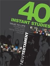 40 Instant Studies: New Testament (Paperback or Softback)