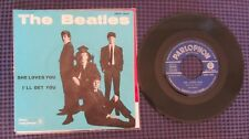 THE BEATLES - SHE LOVES YOU  -I'LL GET YOU-PARLOPHON QMSP 16347- MADE IN ITALY