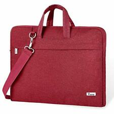 Voova 17 17.3 Inch Laptop Bag for Women Water Resistant Laptop Case Sleeve