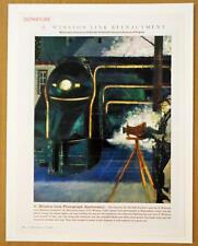 O Winston Link 50th Ann Waynesboro VA N&S RR Sterling Hundley Art 2005 Magazine