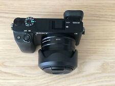 Sony Alpha A6300 24.2MP Digital Camera - Black with 35mm F/1.8 OSS Prime Lens