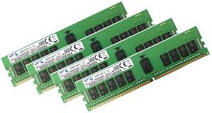 4x 16GB 64GB RAM DDR4 2400MHz ECC REG für HP Compaq Server Synergy 480; 620 Gen9