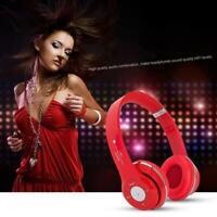 Wireless Bluetooth 4.0 Over-Ear Headphones Foldable high Headset Stereo qua O7N4