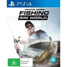 Fishing Sim World Angling Fish Sports Simulator Game For Sony Playstation 4 PS4