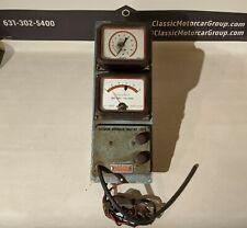 Sun Engine Diagnostics Tester Battery Voltage & Vacuum Advance Gauges
