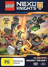 LEGO NEXO KNIGHTS : SEASON 1 part 1 (english cover) - DVD - UK Compatible sealed
