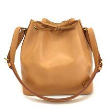 Louis Vuitton Nomade Petit Noe Vachetta Leather Drawstring Shoulder Bag /11296