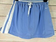 Nike Tennis Skort Skirt with Shorts Girls Size Large L 14 Blue & White Sports