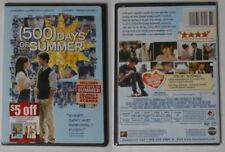 500 Days of Summer U.S. dvd in standard case, sealed