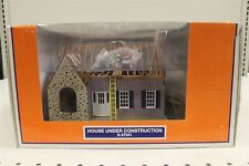 House Under Construction Lionel Train Set Accessory 6-37941