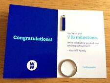 WW Milestone Keyring .. Weight Loss Marker .. 7lbs .. Weight Watchers