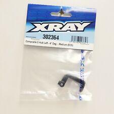 XRAY 302364 RC Car Composite Left Front C-Hub(4 Degree,Medium)For T2/T3/T3R/T4