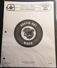 1972 Arctic Cat Prowler Mini-Bike Parts Manual Copy P/N 2386-010