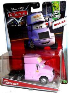 VINYL TOUPEE CAB #76 Piston Cup Pit Crew Deluxe vehicle Disney Pixar Mattel Cars