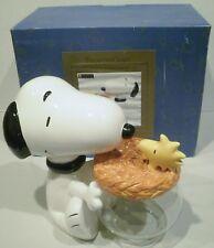 Treasure Craft Peanuts Snoopy and Woodstock Cookie Jar