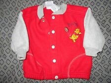 Winnie-the-Pooh Boys 9 M Button Up Coat