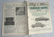 GENERAL MOTORS -- BODY BY FISHER SERVICE NEWS -- 1951 Chevrolet Bel Air Coupe