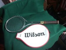 Vintage Early Wilson T2000 Tennis Racket Lightly Used 4 1/2 Grip Connors