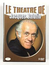 Coffret DVD Le Théâtre de Jacques Balutin / La tete Des Autres, La Manière Forte