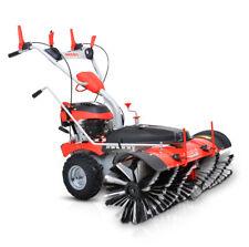 Hecht 8101 S Benzin Kehrmaschine Kehrbesen Motorbesen Schneeschieber Schneefräse