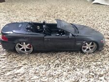 Maisto 1:18 BMW 645Ci Die Cast Model Car Dark Gray