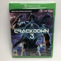 XBOX ONE CRACKDOWN 3 Standard Edition Video Game Brand New Factory Sealed
