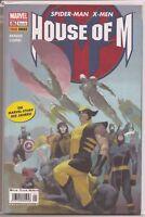 °HOUSE OF M 1 von 4° Spider-Man-X-Men  Brian M. Bendis Panini 2006