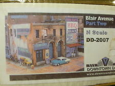 Downtown Deco N #2007 (Plaster Kit) Blair Avenue Part Two -- Kit