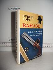 LIBRO Dudley Pope RAMAGE E LE SU ARMI ed.1971 Traduzione Sebastiano Morin
