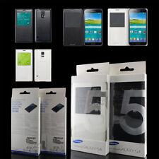 Samsung Galaxy S5 WHITE S VIEW Flip Case GENUINE EF-CG900BWEG SEALED RETAIL PACK