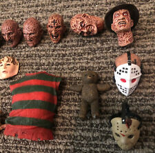 NECA : Freddy Krueger,Jason extra Accessories for figures lot...