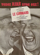 LE CORNIAUD - DE FUNES / BOURVIL / OURY - AFFICHE ORIGINAL MOYEN FORMAT