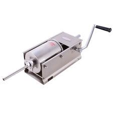 New Hakka 7lb3l Sausage Stuffer Filler Stainless Steel Horizontal Meat Presser