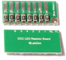 LaisDcc 2 Pack LED Resistor Board Part No.860027 DCC