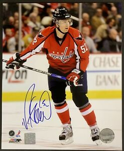 Mike Green Signed Washington Capitals 8x10 Photo Autographed Player Hologram