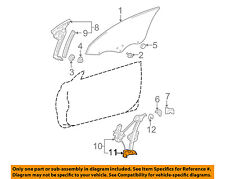 TOYOTA OEM 99-03 Camry Front Door-Window Regulator 6980106020