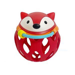 Skip Hop Fox Baby Rattle Toy
