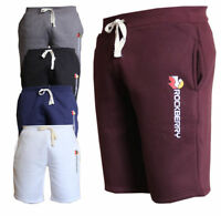 Mens Fleece Jogger Shorts Jersey Jogging Elasticated Waist Summer Shorts