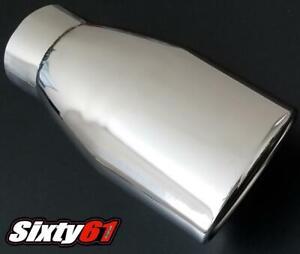 Toyota TRD Chrome Exhaust Tip Scion Corolla Prius XA XD XB Matrix FRS Muffler