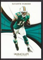 2018 Immaculate Collection #8 DeVante Parker 88/99 Miami Dolphins