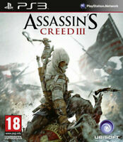 Assassin's Creed III 3 Playstation 3 PS3 **FREE UK POSTAGE!!**
