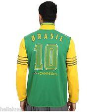 Puma KICKER TRACK JACKET BRAZIL Soccer Pele 1958 jersey-sweat shirt Brasil~Men L