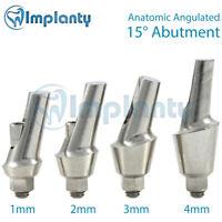 Anatomic Angular Abutment 15 Degree, Dental Implant Internal Hex Titanium