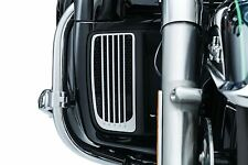 NEW Kuryakyn - 7681 - Radiator Grills, Chrome  Electra Glide ROAD TRI FREE SHIP