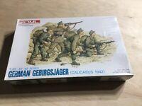 DML 1:35 Scale German Gebirgsjager (Caucasus 1942) Plastic Model Figures NIB