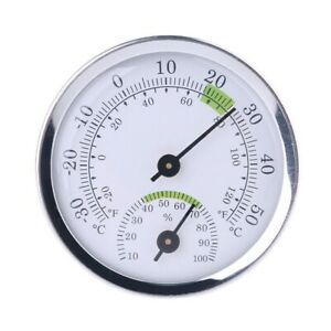 Mini Wall Mount Temperature Humidity Meter Thermometer Hygrometer Tools Supplies