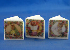 Birchcroft Thimbles -- Miniature Book Style  -- 3 Beatrix Potter ( Make Offer )